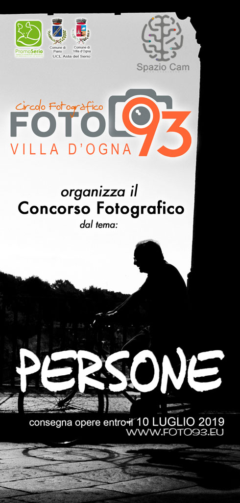 Brochure del Concorso fotografico - PERSONE